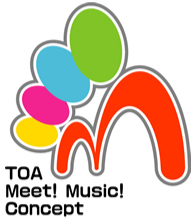 TOA Meet! Music! Concept ロゴ
